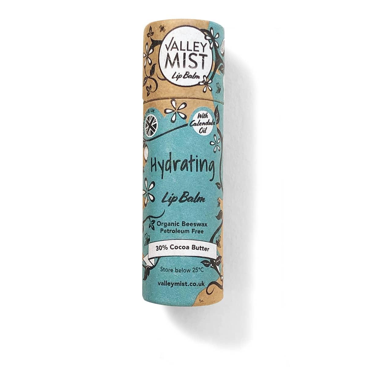 plastic free lip balm Hydrating Valley Mist original lip balm