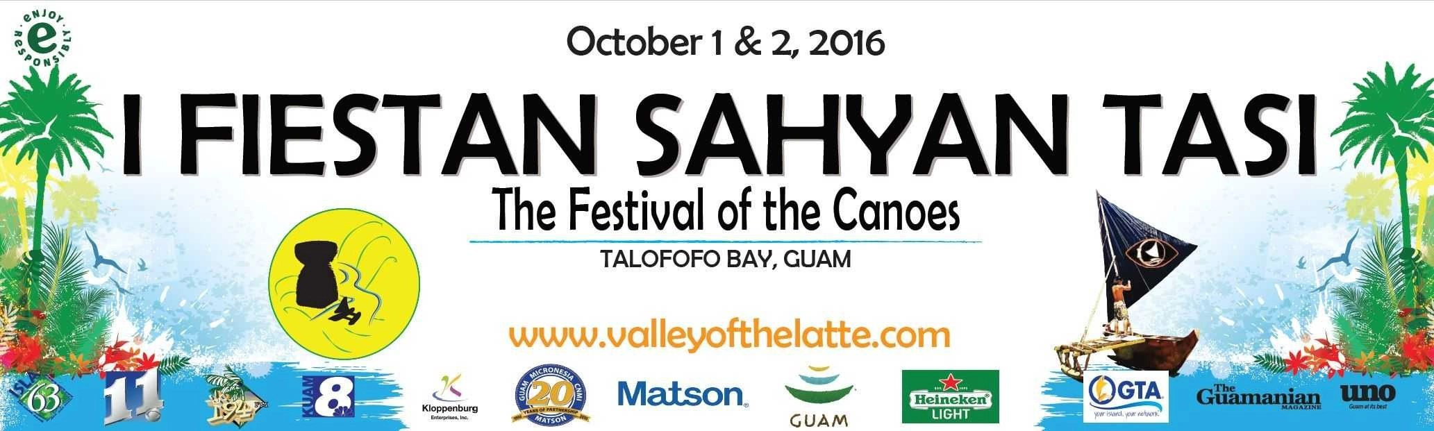 Guam's Valley of the Latte Adventure Park Tours and Activities. First Annual Festival of the Canoes- I Fiestan Sahyan Tasi.