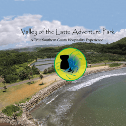 Guam's Valley of the Latte Adventure Park Tours and Activities