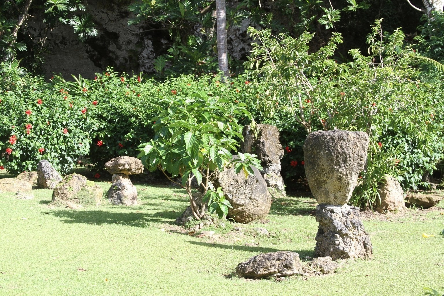 Guam, Things to do, Tours, Activities, Valley of the Latte, Ancient Chamorro Latte Site, Botanical Gardens