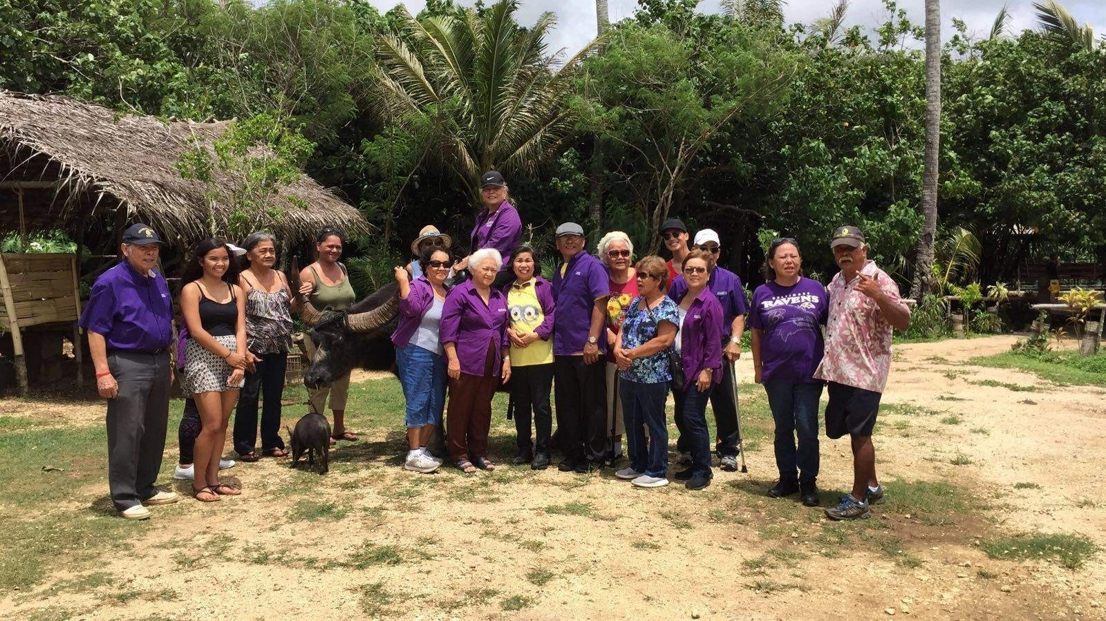 Senior Day at Guam's Valley of the Latte Adventure Park- tours, activities, and adventures