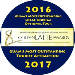 Valley of the Latte, Adventure Park, Guam, Guam's best tours, guam tours, things to do on guam, most outstanding tour and attraction, golden latte award