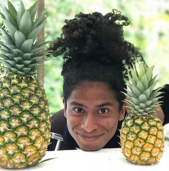 Guam's freshest produce, Guam's best tours, tours on guam, Valley of the Latte, Guam, Pineapple