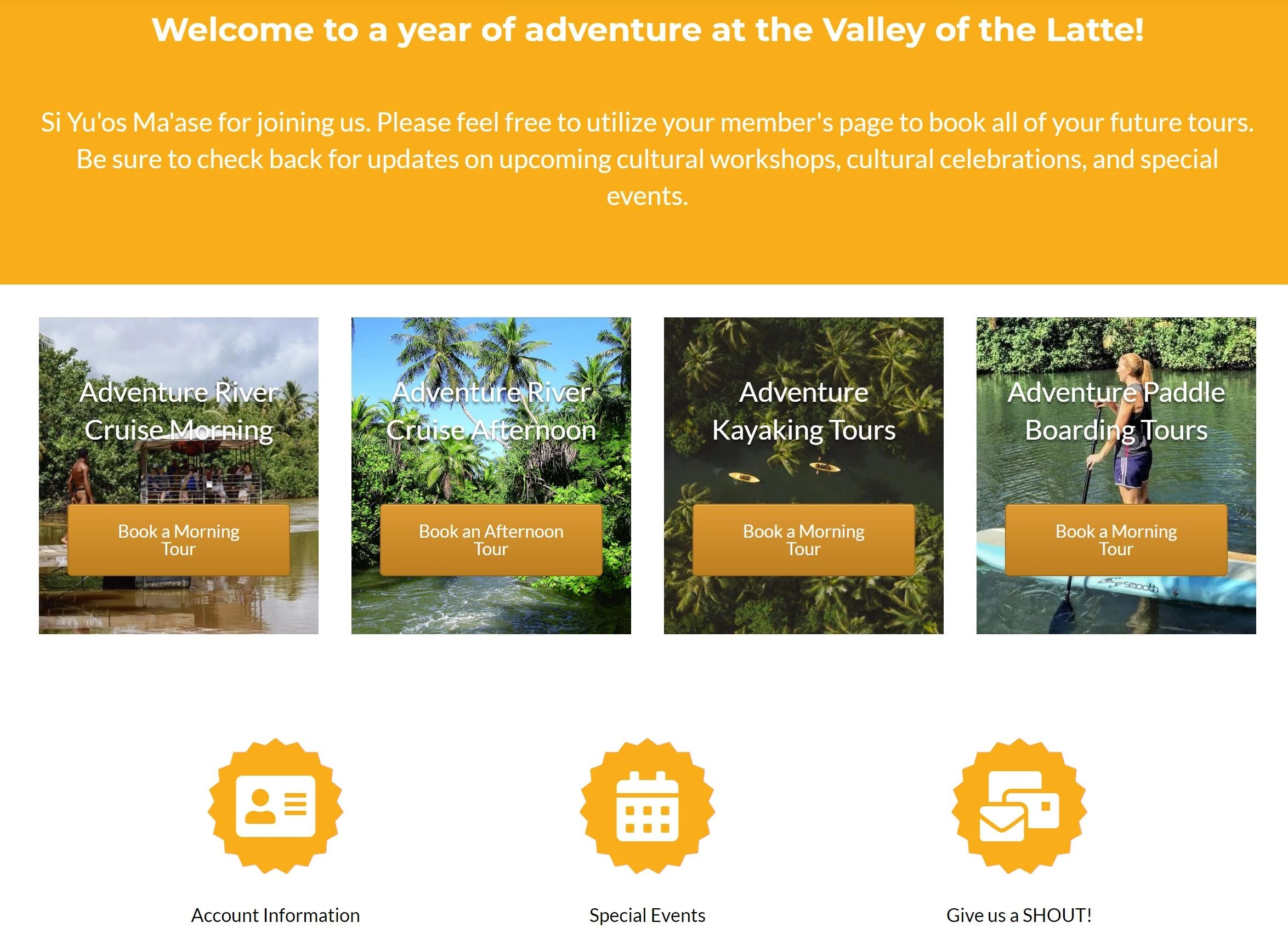 Valley of the Latte Member Only Page