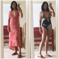 dress & one-piece swimsuit review