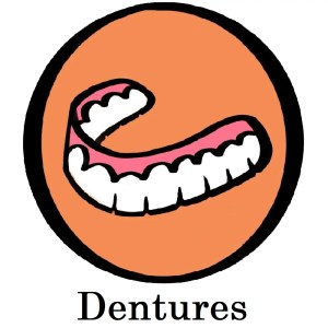 Professionally made Dentures