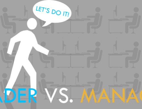 Leaders vs Manager