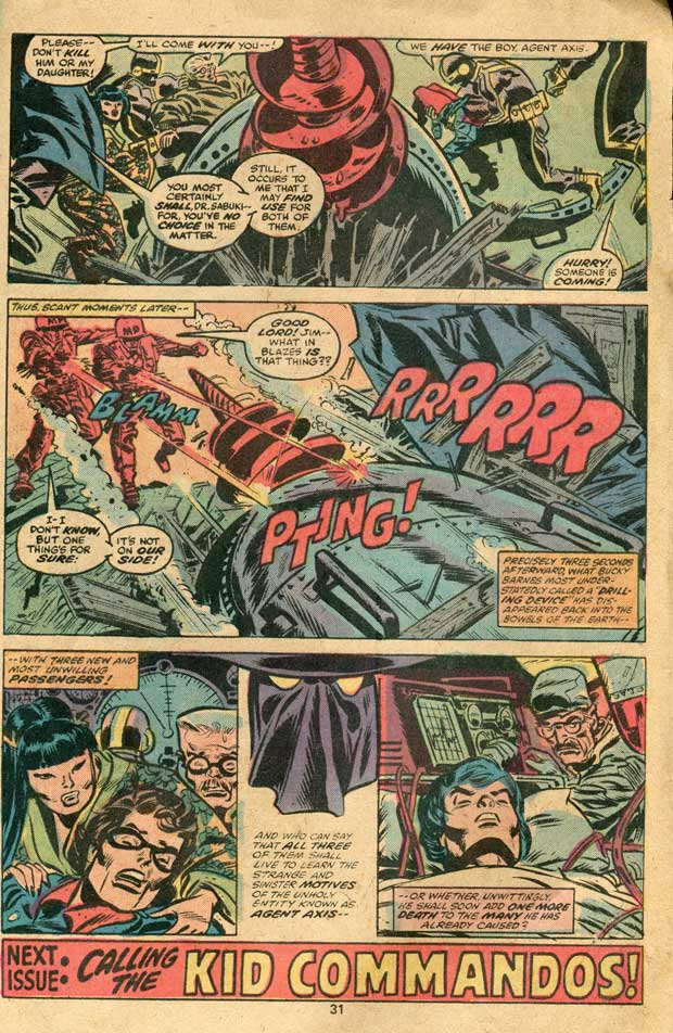 12 Pages from Aged Comic Books  Valleys In The Vinyl