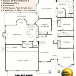 Image of Warner Ranch Tempe floor plans: model Huntington 545