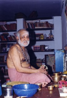 Swamigal after puja