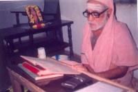 Swamigal reading Srimad Bhagavatham