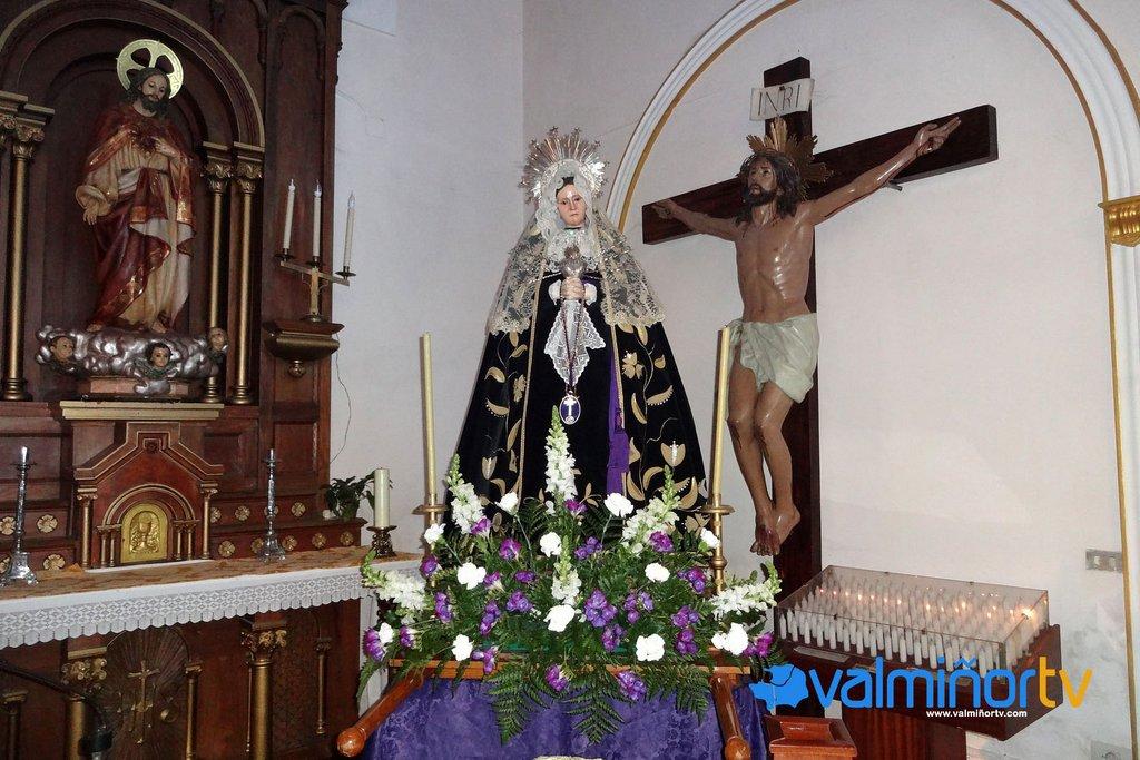 VIRXE DAS DORES NA PARROQUIA DE SANTA CRISTINA DA RAMALLOSA