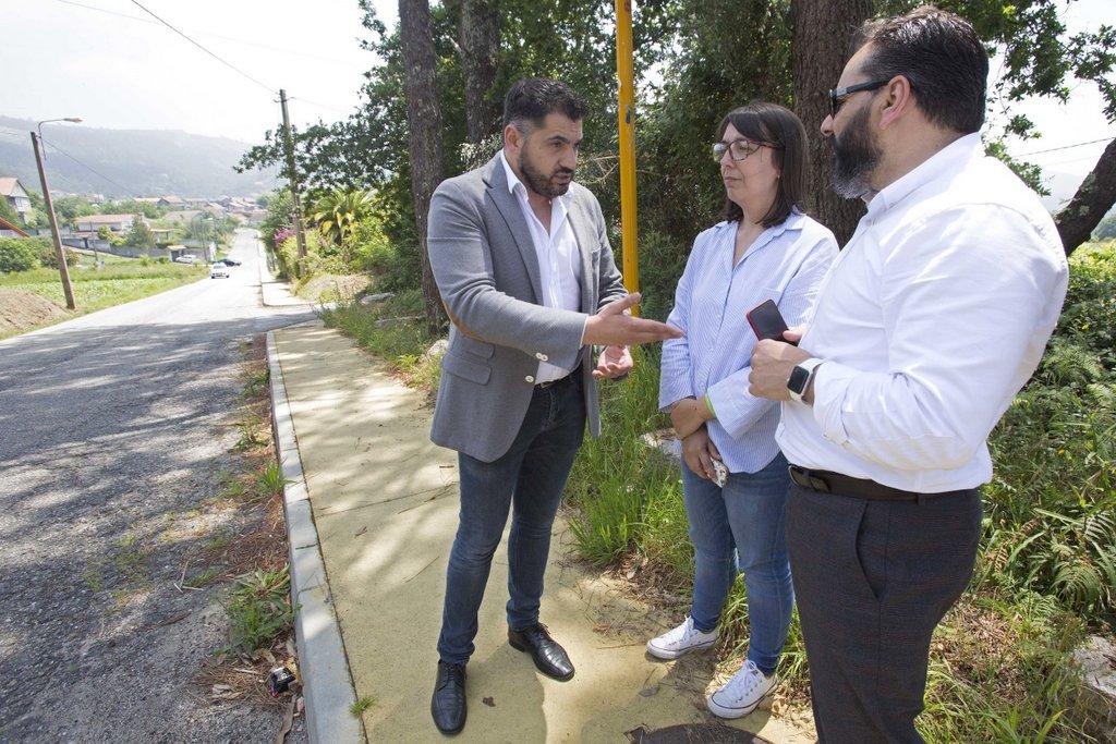 BENÍTEZ ANUNCIA UN INVESTIMENTO DE MÁIS DE 400.000 € PARA A MELLORA DA ESTRADA CHAÍN-MORGADÁNS