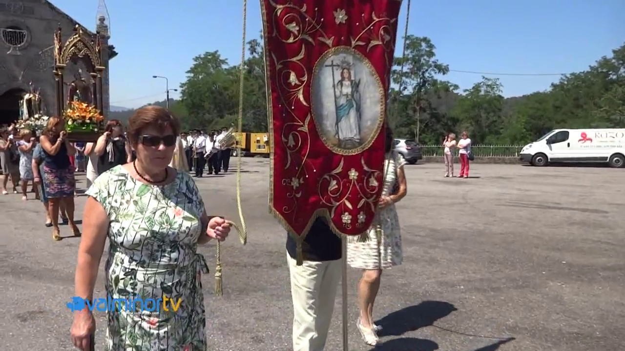 PROCESIÓN DE SANTA MARIÑA EN VINCIOS