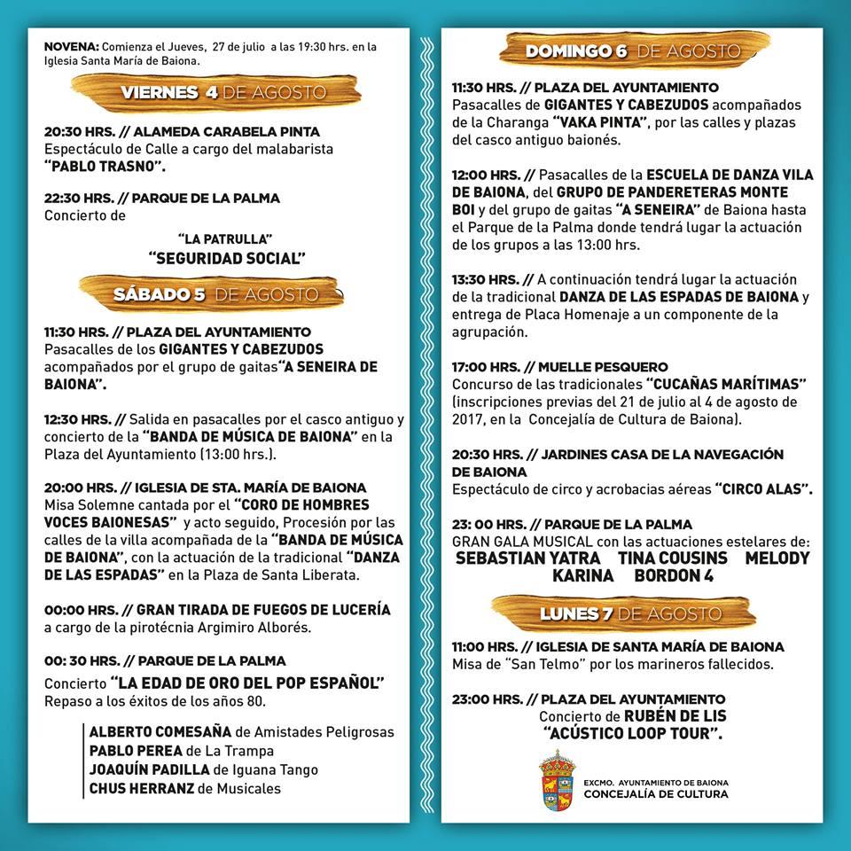 PROGRAMA FESTAS DA ANUNCIADA