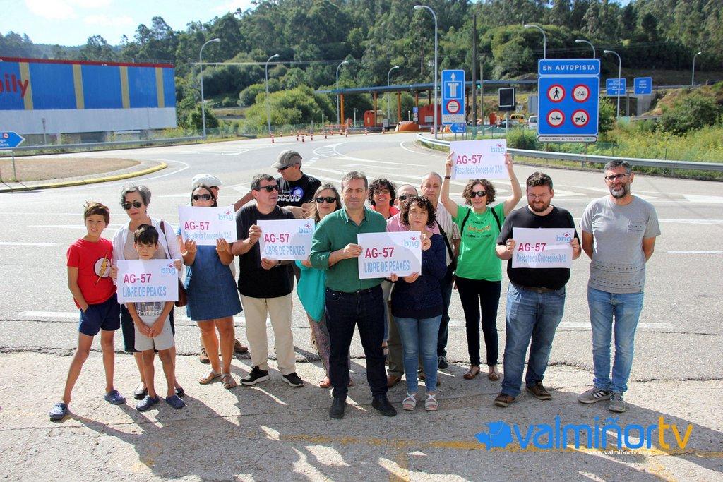 O BNG RECLAMA A GRATUIDADE DA AUTOESTRADA DO VAL MIÑOR