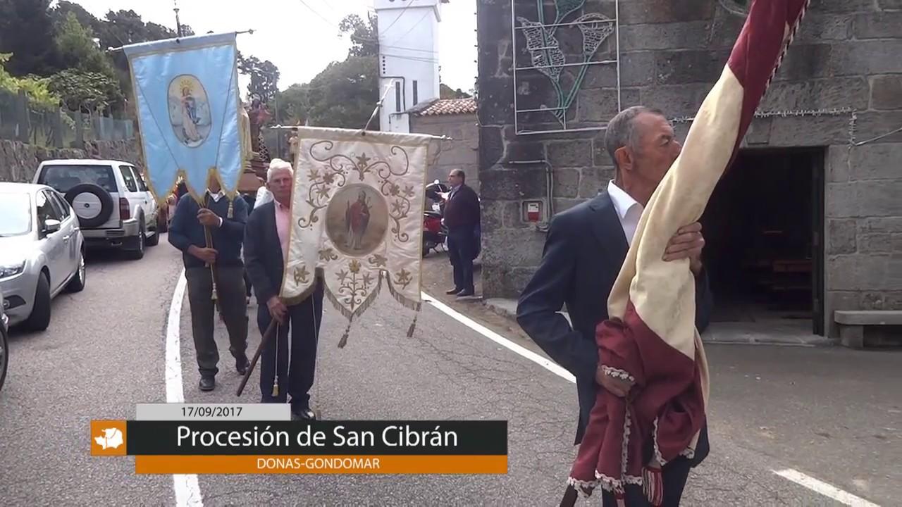PROCESIÓN DE SAN CIBRÁN EN DONAS