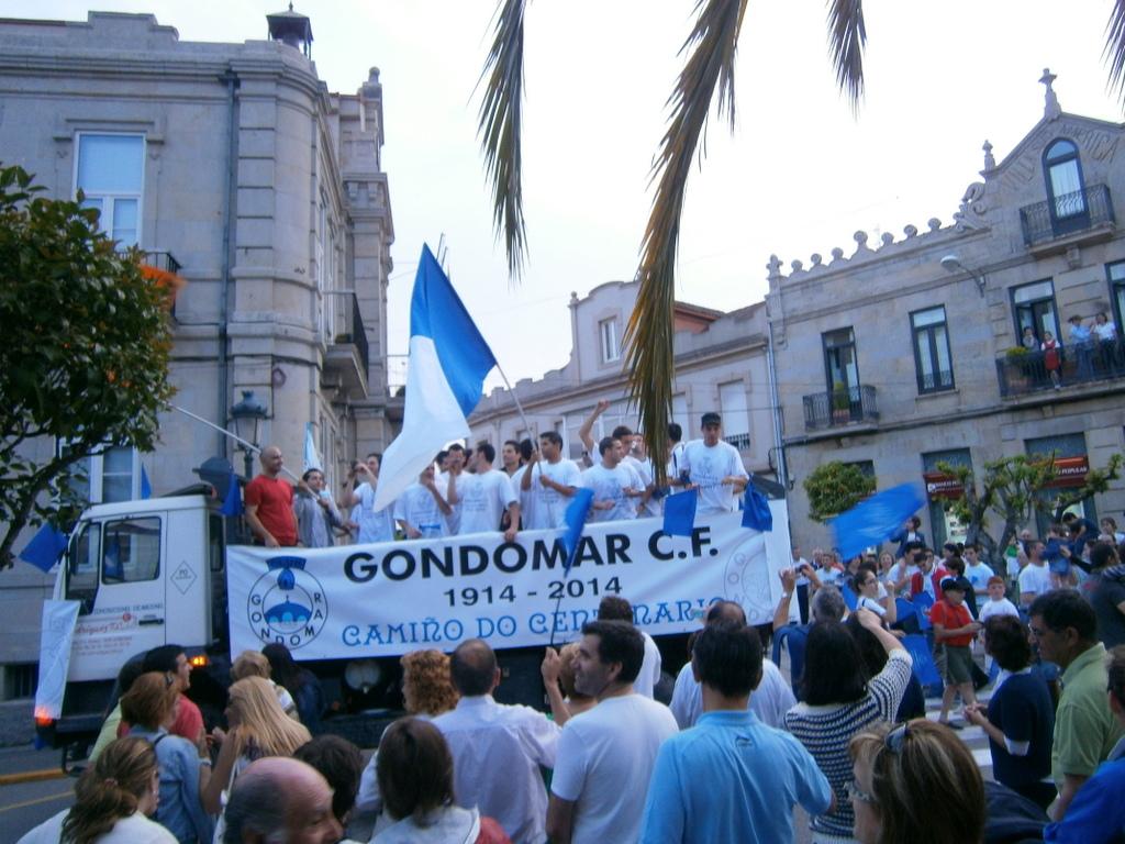 ASCENSO A PREFERENTE DO GONDOMAR CLUB DE FÚTBOL