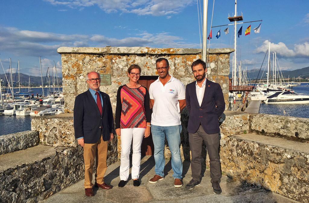 2018-07-04 – Visita de la presidenta de la RYA al Monte Real Club de Yates