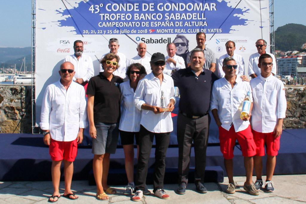 2018-07-25 – El Oral Group ganador de la clase ORC 3 – Foto © Oscar Calero