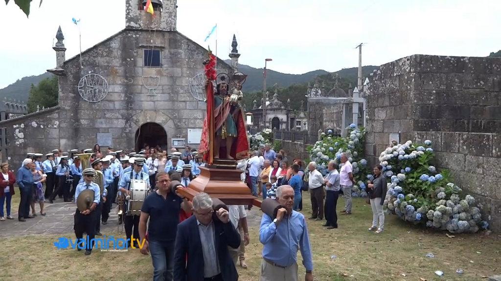 PROCESIÓN DE SAN CRISTOVO EN COUSO