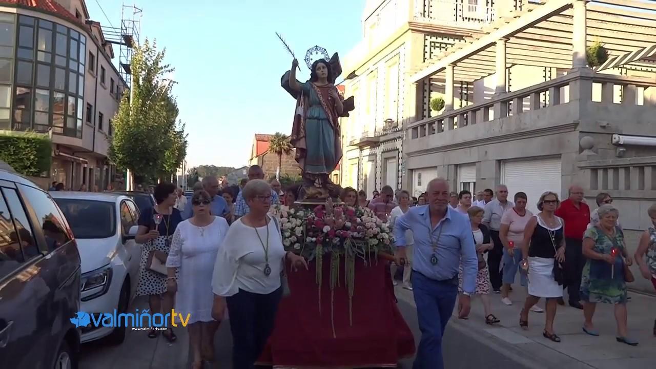 PROCESIÓN DE SANTA CRISTINA EN SABARÍS