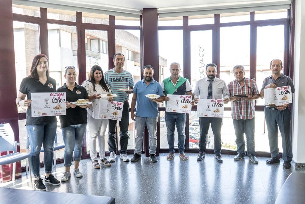 2018-09-13 – FOTO PRESENTACIÓN TAPAS DO CONDE 2018