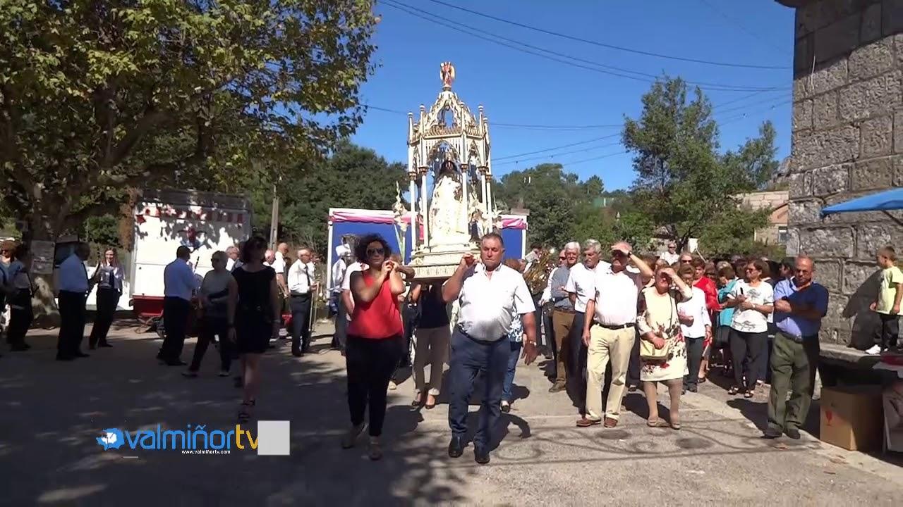 VALMIÑORTV – Procesión de la Virgen de la Merced en Chaín (BQ)
