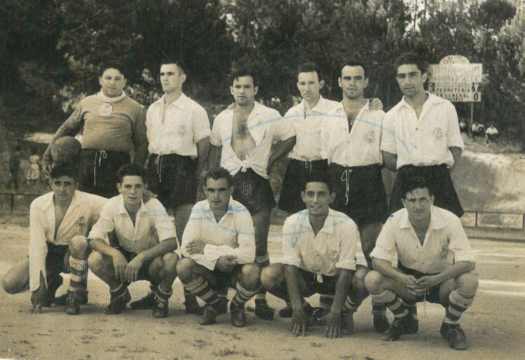 GONDOMAR CLUB DE FÚTBOL ANOS 50
