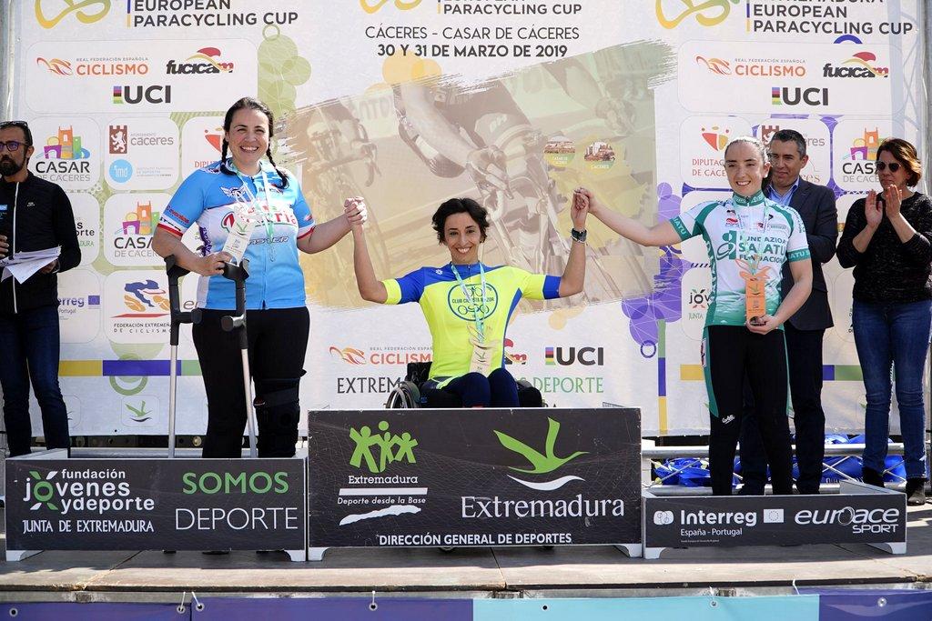MILA LÓPEZ NA EXTREMADURA EUROPEAN PARACYCLING CUP