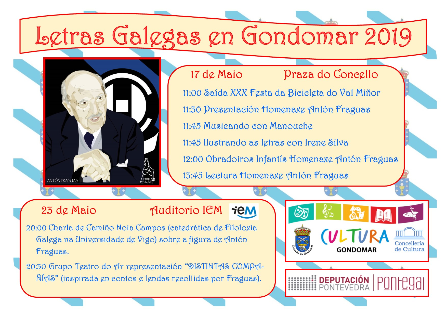 Poster Letras Galegas 2019