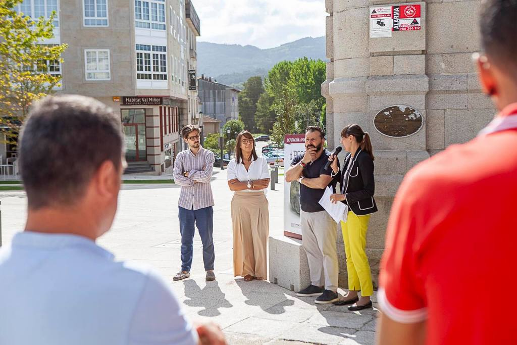 EXPOSICIÓN «D'PEDRA» EN GONDOMAR