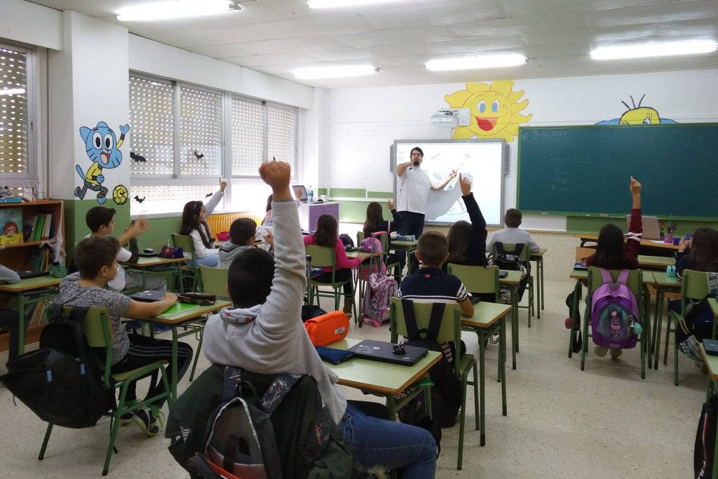 2019-11-18 – 5º primaria CPI Cova Terreña- David Fernández Rivera
