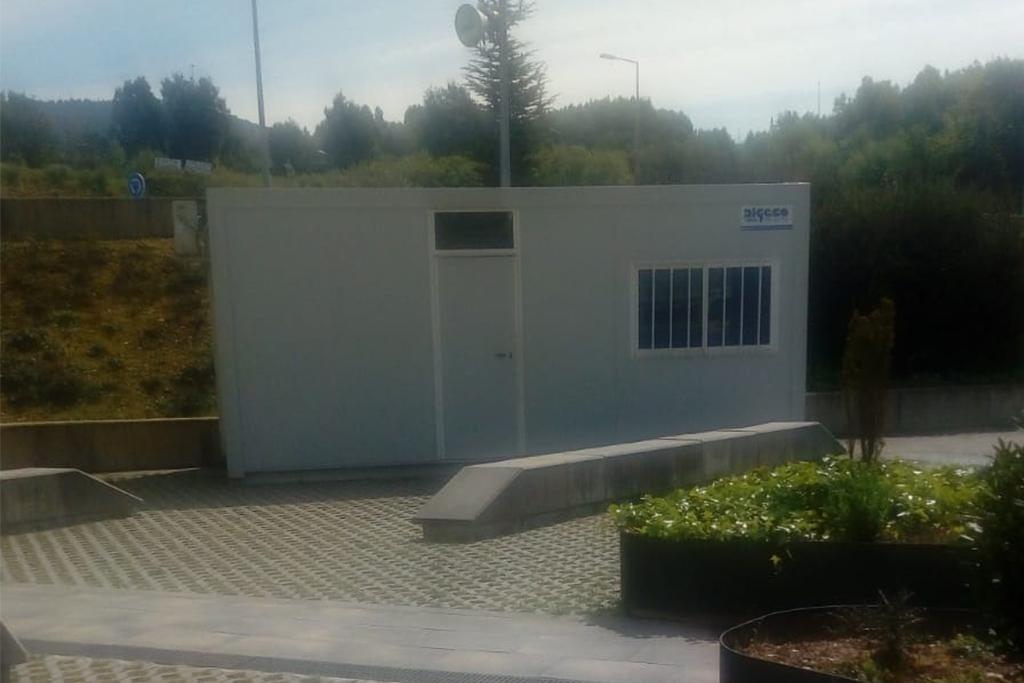 O Álvaro Cunqueiro instala novos módulos de descanso para o persoal sanitario de garda