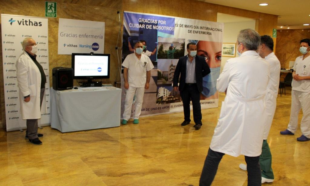 200512 Día Internacional de la Enfermería en Vithas Vigo