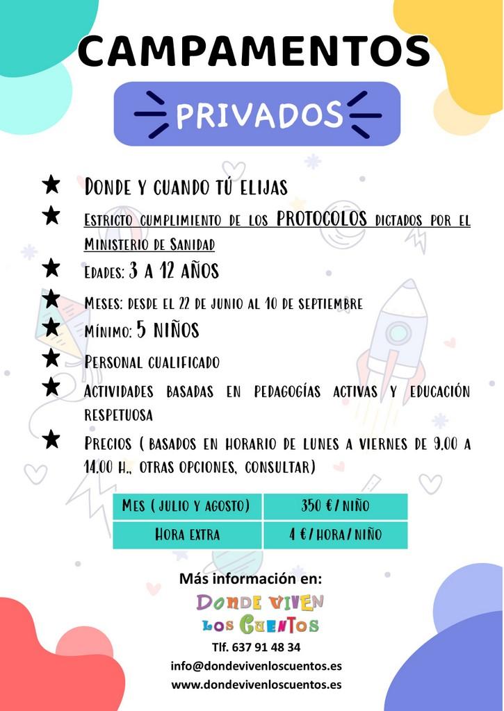 2020-06-12 - Campamentos privados