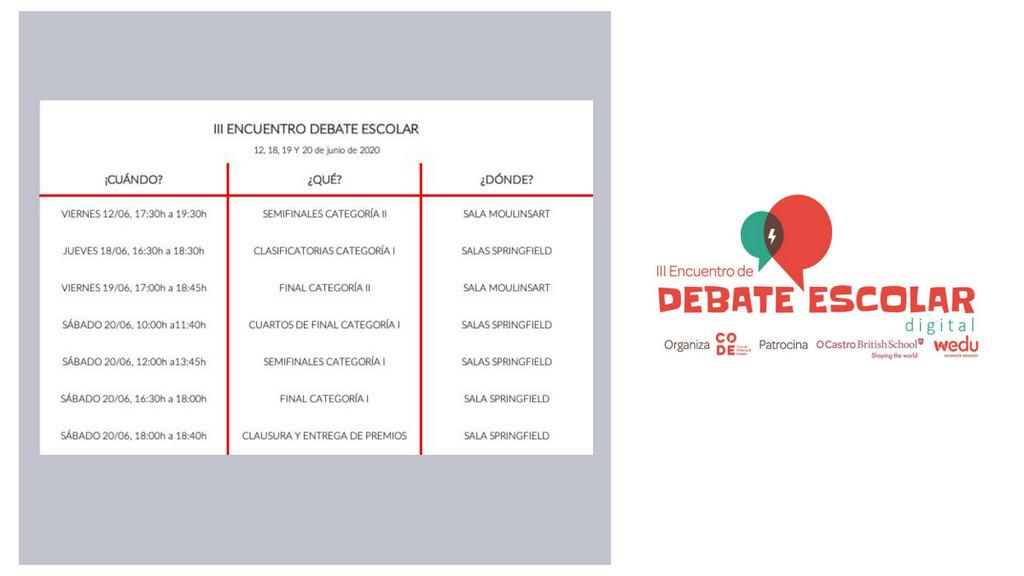2020-06-16 – PROGRAMA III ENCUENTRO DEBATE ESCOLAR