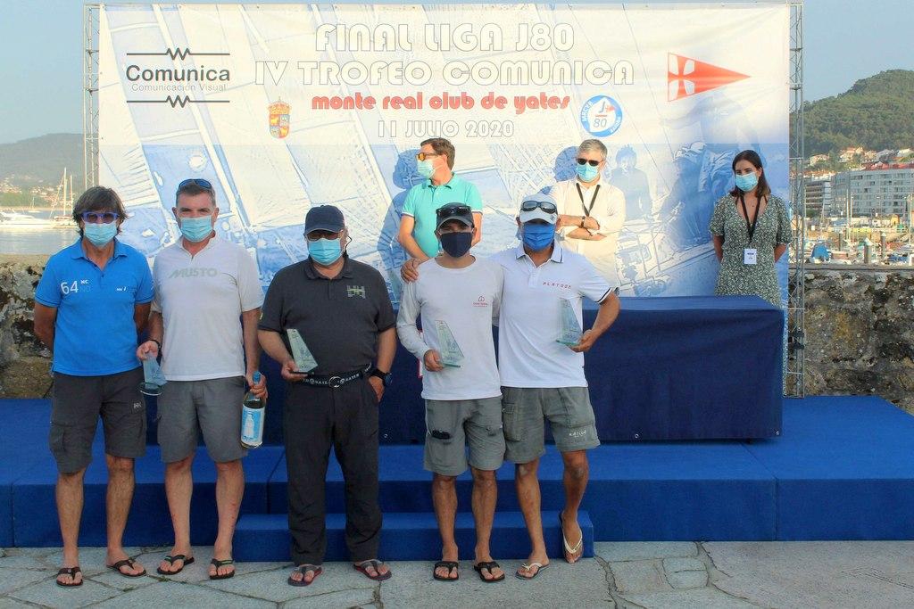 2020-07-12 – La tripulación del Alboroto de Juan Carlos Ameneiro quedó segunda – Foto Carlos Hernández