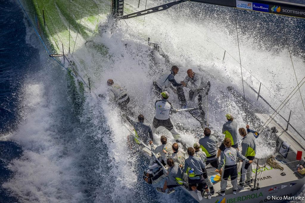 TP52 WORLD CHAMPOINSHIP 2008ISLAS CANARIAS – PUERTO CALERO COASTAL RACE