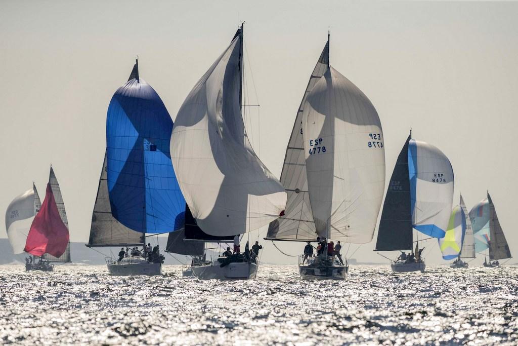 2020-09-04 – Las condiciones para la navegación fueron muy buenas en la primera jornada – Foto Lalo R Villar