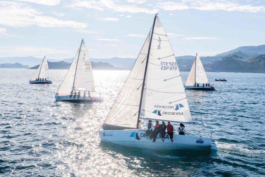 2021-10-10 – El Decoexa (en primer plano) fue el vencedor de la fase celebrada en Galicia – Foto Jacobo Bastos