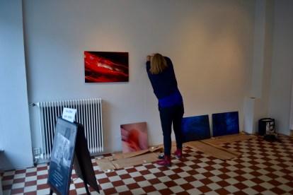 Työn touhussa, kuva Lilli Haapala