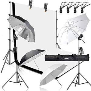 valokuvaukseen tarkoitetut sateenvarjot