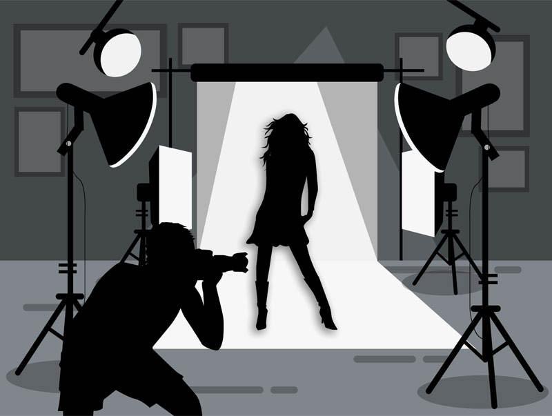 rakenna oma valokuvausstudio