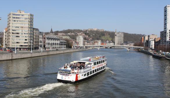 Cruceros por el Mosa a bordo del barco Le Pays de Liège