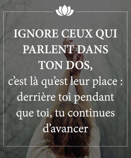 Citation Gens Qui Parle Dans Le Dos : citation, parle, Ignore, Parlent