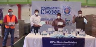Grupo Modelo hace donación a afectados por COVID-19 y el sismo del 23 de junio de Tuxtepec