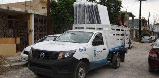 Municipio San Nicolás recibe apoyos para afectados por Hanna