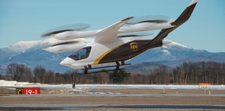 UPS adquiere sus primeros diez aviones eléctricos