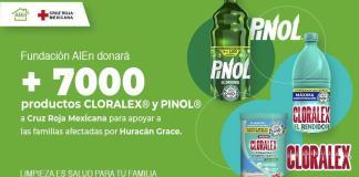 Fundación AlEn donó más de 7 mil productos de Cloralex y Pinol en Veracruz